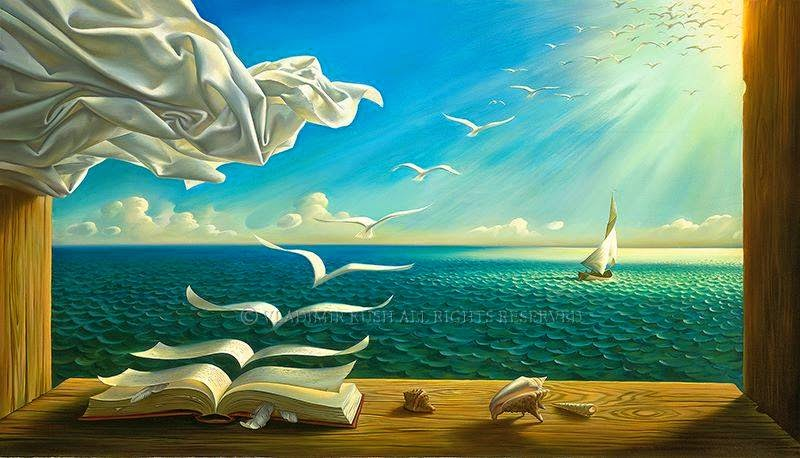 Art by Vladimir Kush