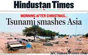 Hindustan Times - Tsunami Smashes Asia