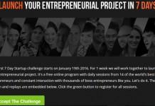 7 Days Startup Challenge